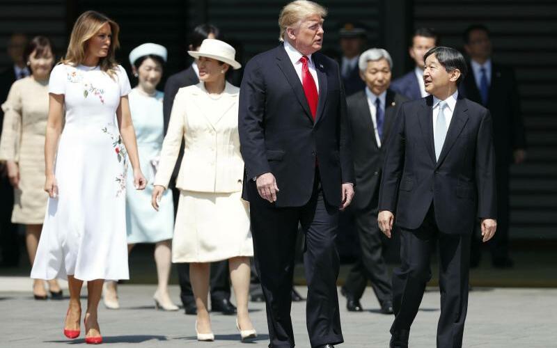 US-Präsident Trump besucht Japan - Foto: Issei Kato/Pool Reuters/AP