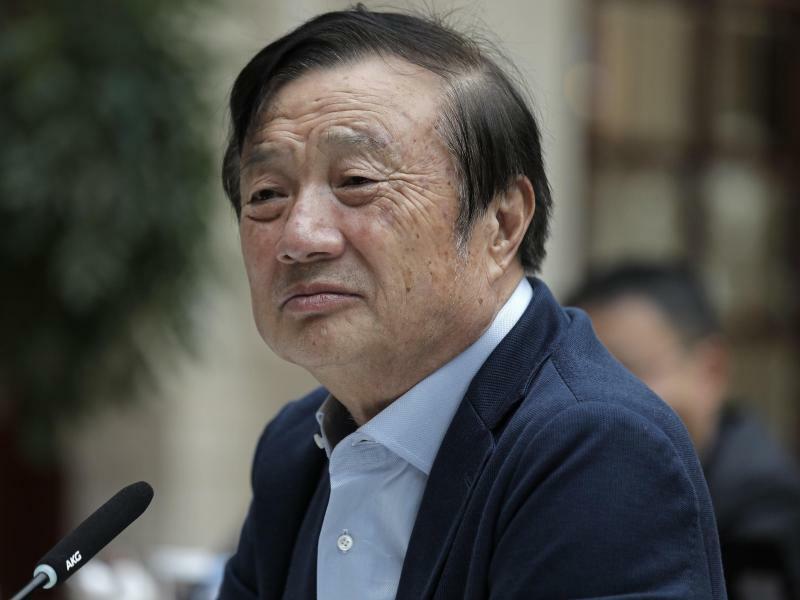 Ren Zhengfei - Foto: Vincent Yu/AP