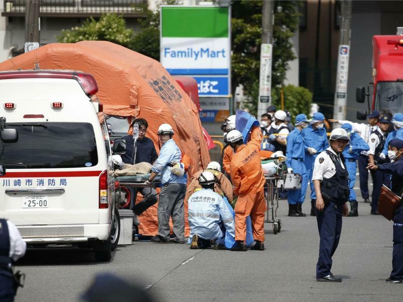 Messerangriff in Japan - Foto: Kyodo News/AP