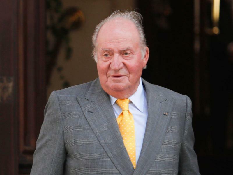 Ex-König Juan Carlos - Foto: Francisco Flores Seguel/Agenciau/Agencia Uno