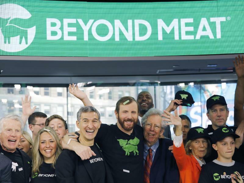 Börsengang Beyond Meat - Foto: Mark Lennihan/AP