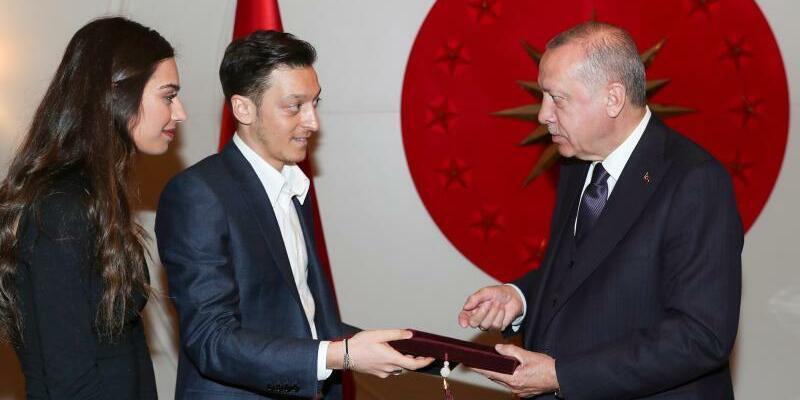 Özil-Hochzeit - Foto: Pool Presidential Press Service