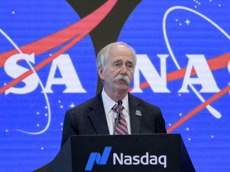 Nasa öffnet ISS ab 2020 für Weltraumtouristen - Foto: Bill Ingalls/NASA/AP/
