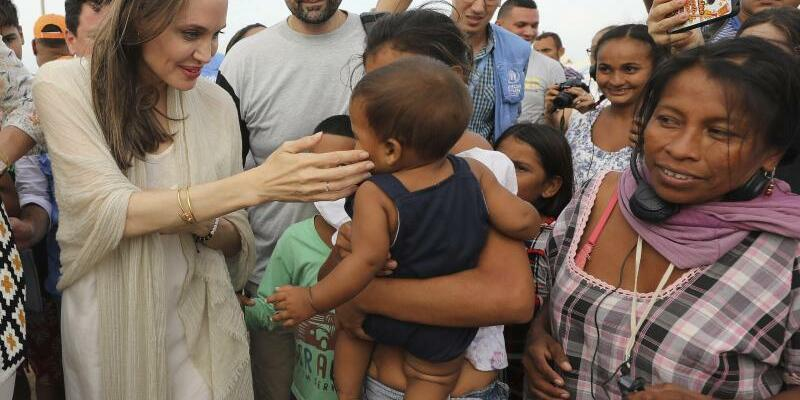 Angelina Jolie - Foto: Fernando Vergara/AP