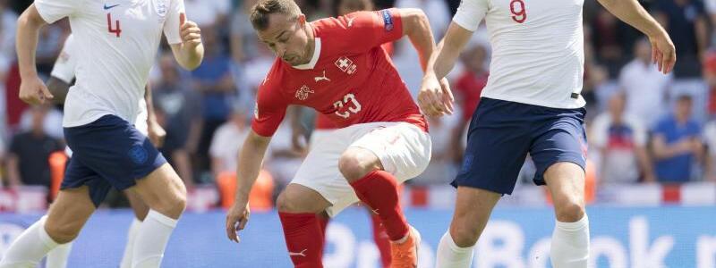 Schweiz - England - Foto: Jean-Christophe Bott/KEYSTONE