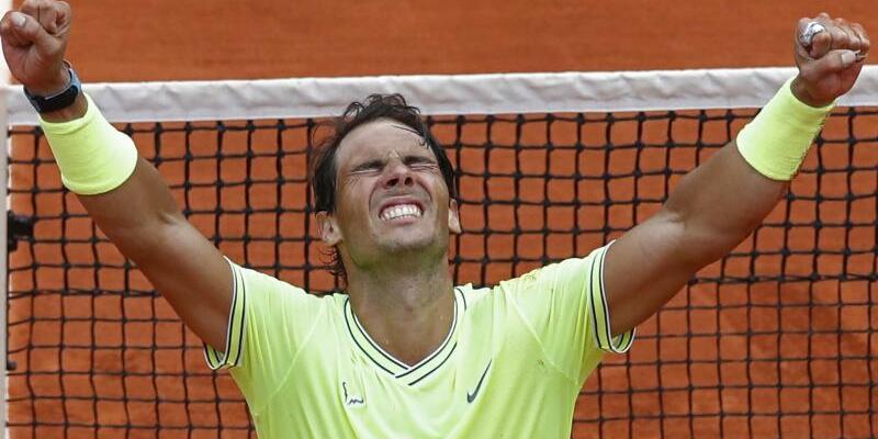 Rafael Nadal - Foto: Rafael Nadal feiert seinen Triumph bei den French Open. Foto:Christophe Ena/AP