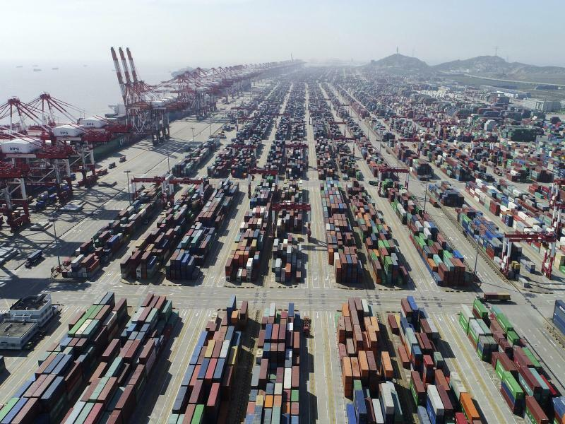 Chinas Exporte erholt - Foto: Ding Ting/Xinhua/AP