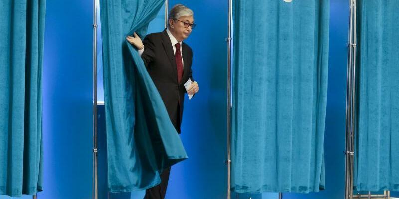 Wahlen - Foto: Alexei Filippov/AP