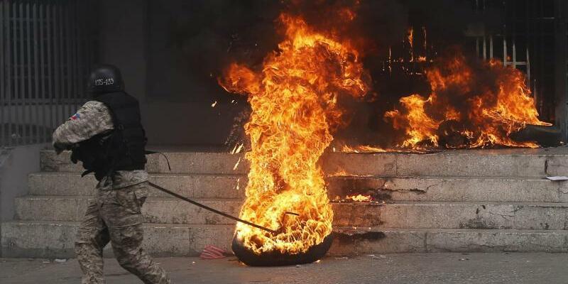 Protest in Haiti - Foto: Dieu Nalio Chery/AP