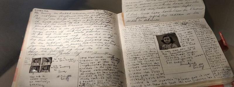 Tagebuch von Anne Frank - Foto: Insa Kohler
