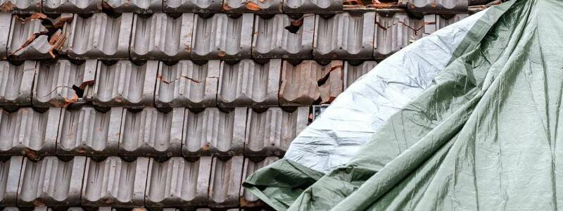 Dachschäden - Foto: Sina Schuldt
