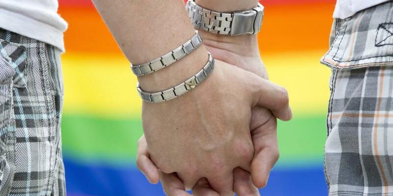 Homosexuelles Paar - Foto: Michael Reichel