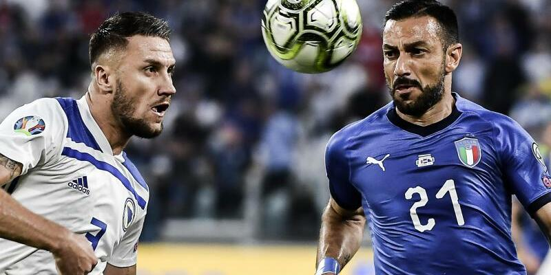 Italien - Bosnien-Herzegowina - Foto: Marco Alpozzi/Lapresse.Lapresse/Lapresse via ZUMA Press