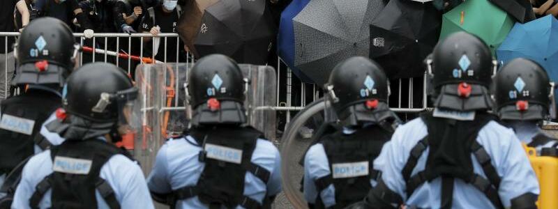 Proteste in Hongkong - Foto: Vincent Yu/AP