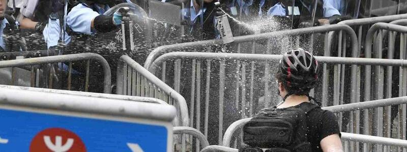 Proteste in Hongkong - Foto: Kyodo