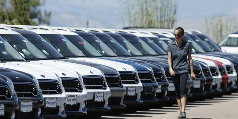 Automarkt in den USA - Foto: David Zalubowski/AP