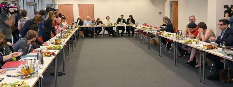 Koalitionsverhandlungen - Foto: Carmen Jaspersen