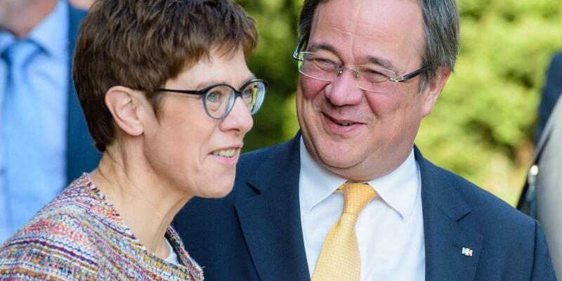 Kramp-Karrenbauer und Laschet - Foto: Oliver Dietze
