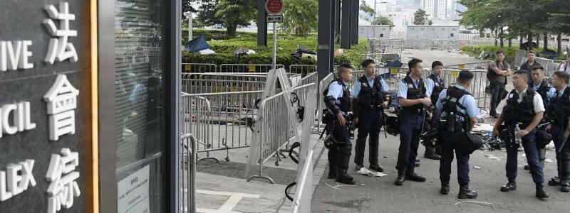 Nach den Demonstrationen - Foto: Kyodo