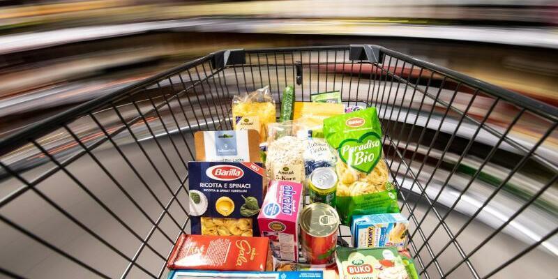 Einkaufen im Supermarkt - Foto: Fabian Sommer