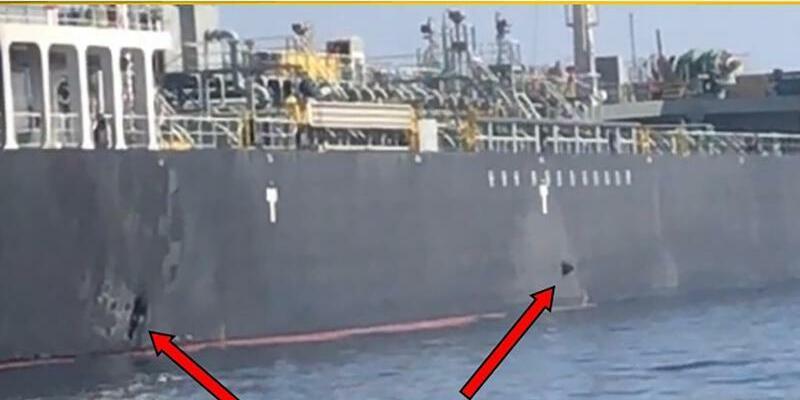 Zwischenfall im Golf von Oman - Foto: U.S. Central Command/AP