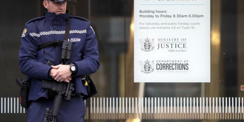 Christchurch-Attentat - Foto: Mark Baker/AP