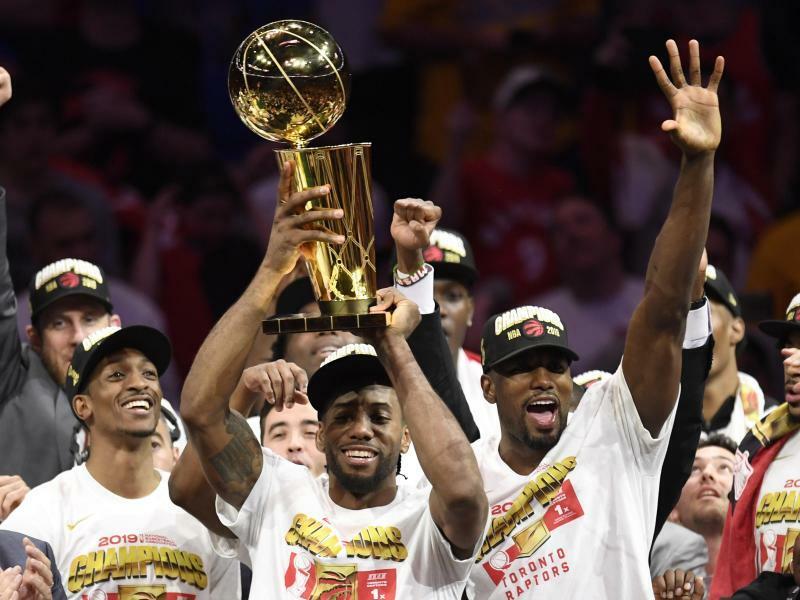 NBA-Champion - Foto: Frank Gunn/The Canadian Press