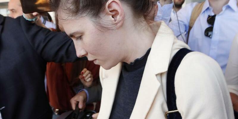 Amanda Knox - Foto: Antonio Calanni/AP
