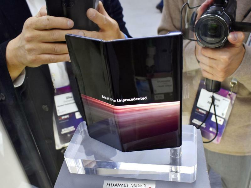 Huawei Mate X - Foto: Kyodo