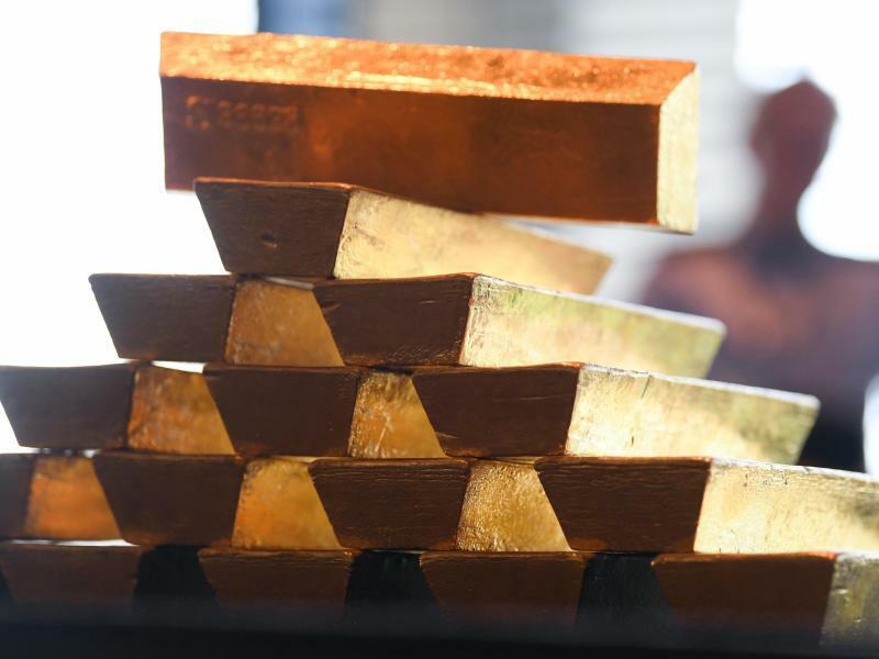 Goldpreis  steigt - Foto: Arne Dedert