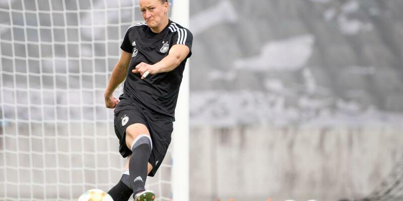 DFB-Training - Foto: Sebastian Gollnow