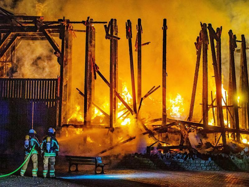 Großbrand - Foto: Christoph Reichwein