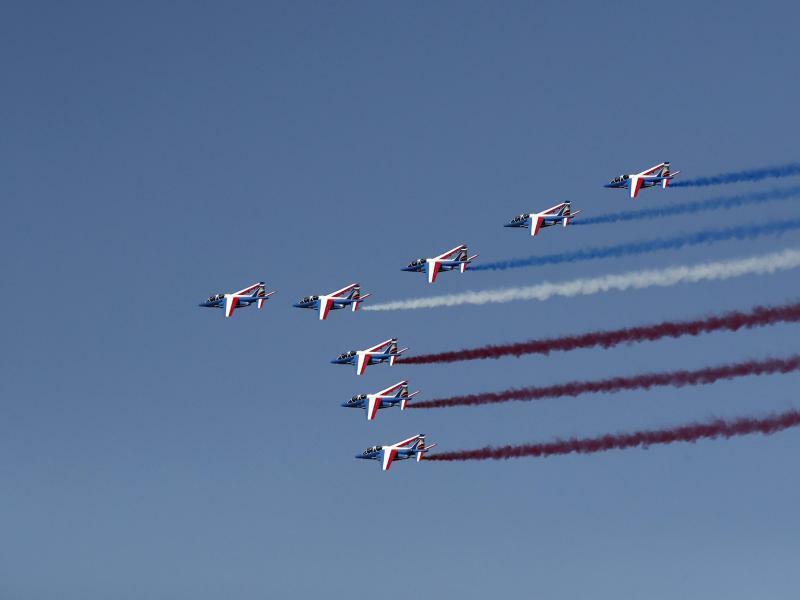 Luftshow - Foto: Benoit Tessier/Reuters
