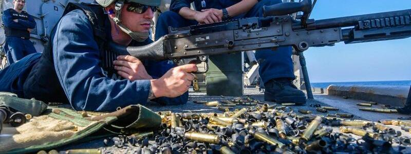 US-Soldaten im Golf von Oman - Foto: Jac