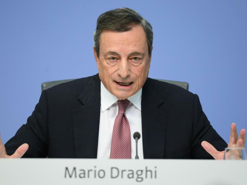 EZB-Präsident Mario Draghi - Foto: Arne Dedert