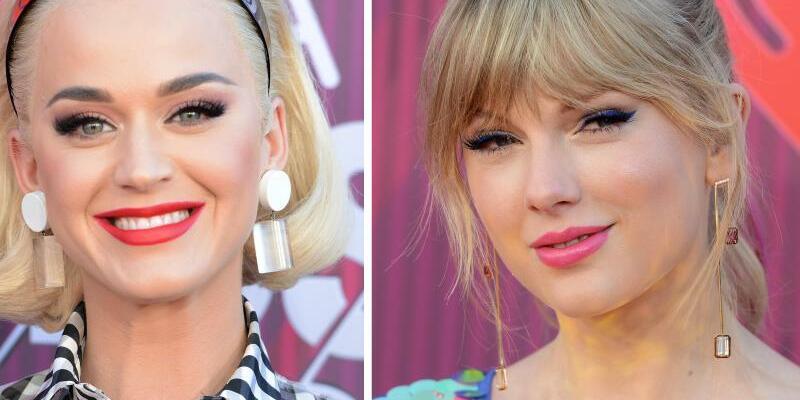 Katy Perry und Taylor Swift - Foto: Jordan Strauss/AP