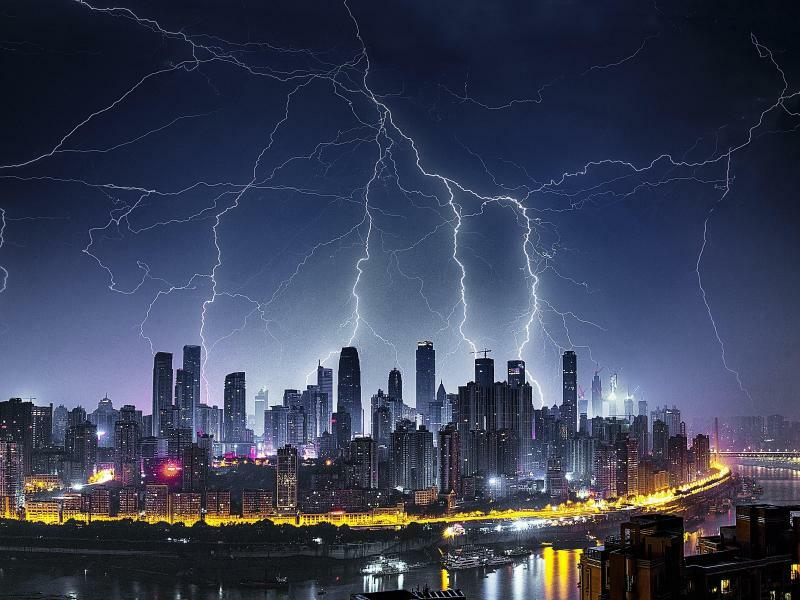 Wenn der Himmel zürnt - Foto: Zhou Zhiyong/SIPA Asia via ZUMA Wire