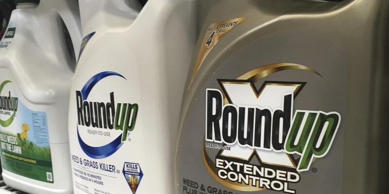 Unkrautvernichter Roundup - Foto: Die Bayer-Tochter Monsanto will das milliardenschwere Schadenersatz-Urteil um Krebsgefahren ihres Unkrautvernichters Roundup aufheben lassen. Foto:Haven Daley/AP