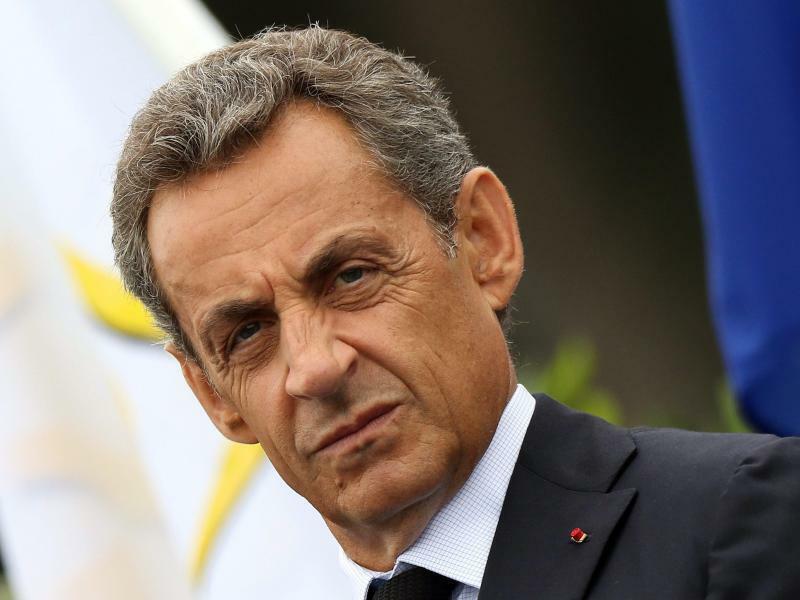 Nicolas Sarkozy - Foto: Eddy Lemaistre/EPA