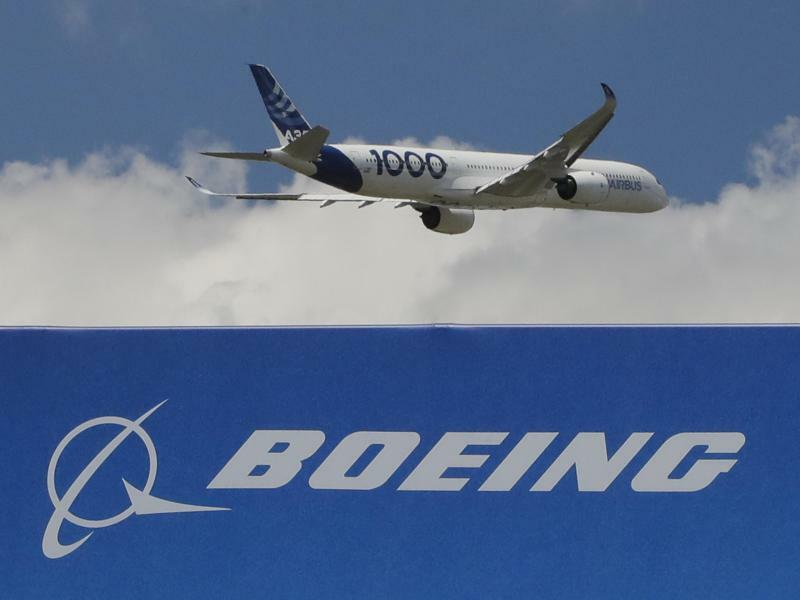 Airbus und Boeing - Foto: Michel Euler/AP