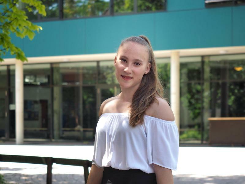 Niedersachsens jüngste Abiturientin - Foto: Katrin Hoffmann