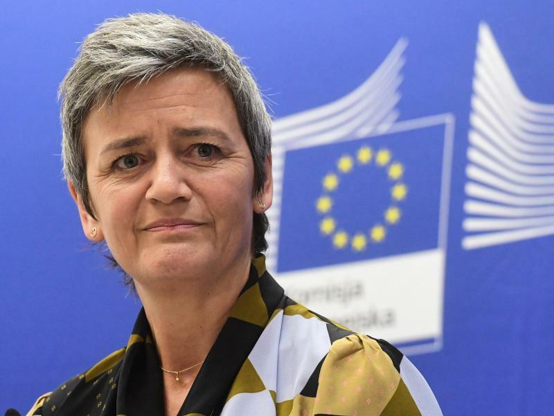 EU-Wettbewerbskommissarin Vestager - Foto: Piotr Nowak/PAP/dpa