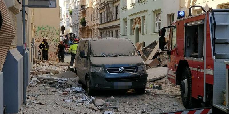 Explosion in Wien - Foto: Kevin Hofmann/APA