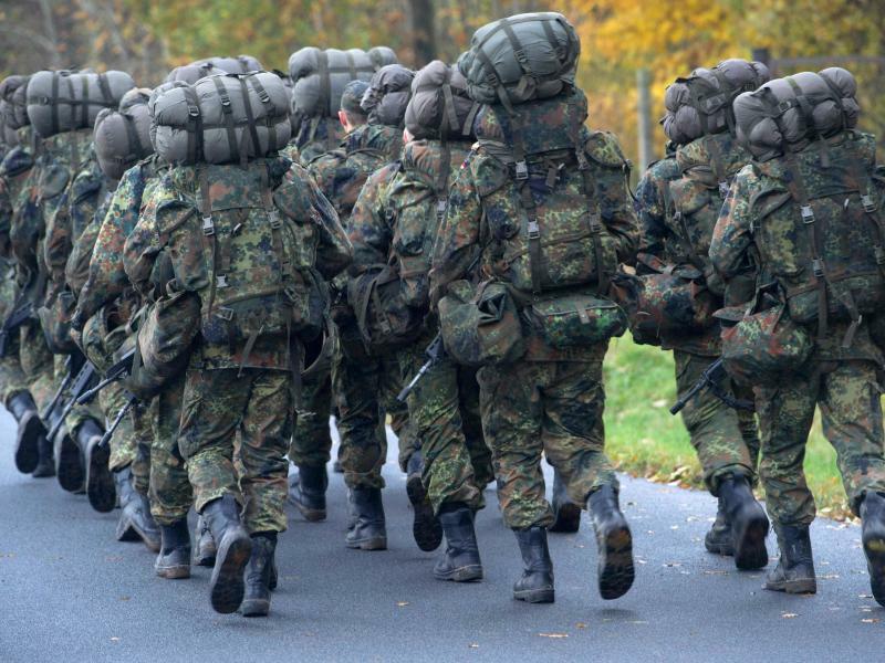 Bundeswehr - Foto: Stefan Sauer/Archiv