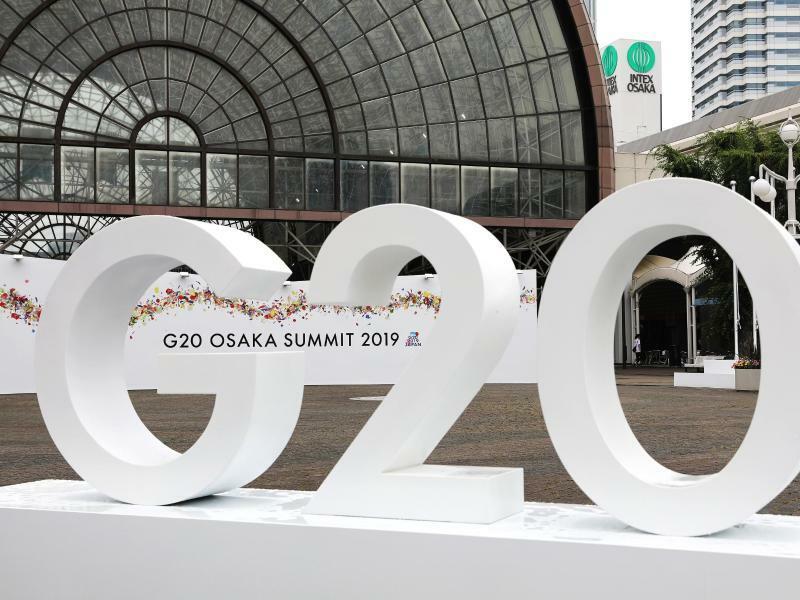 G20-Gipfel in Osaka - Foto: Du Xiaoyi/XinHua