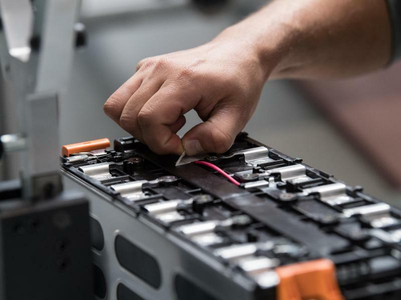 Batteriewerk Akasol - Foto: Fabian Sommer