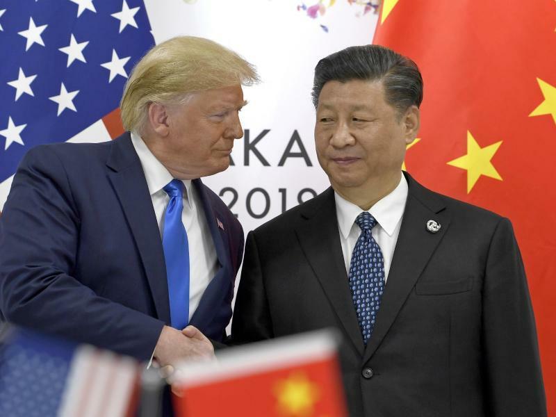 Trump und Xi in Osaka - Foto: Susan Walsh/AP
