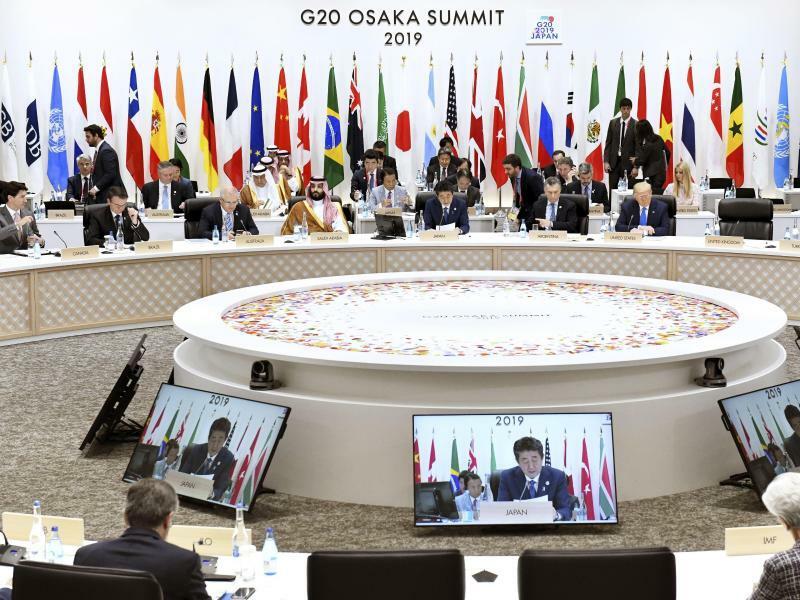 G20-Gipfel in Osaka - Foto: kyodo
