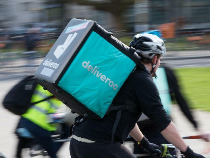 Deliveroo-Radler - Foto: Jörg Carstensen