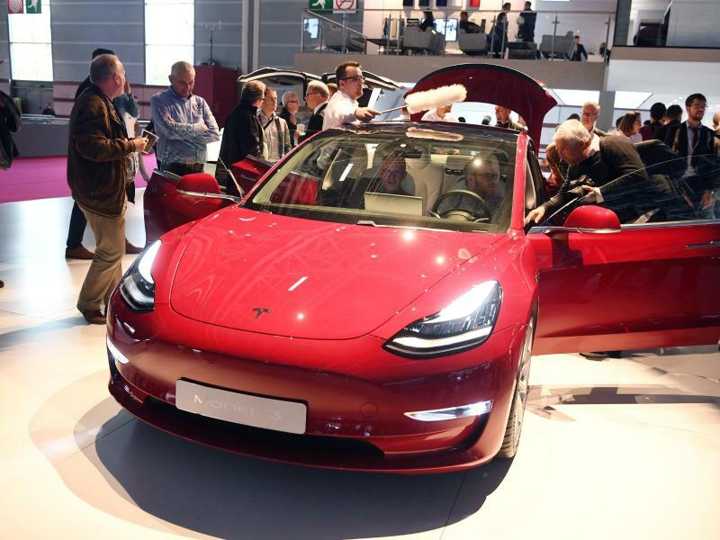 Teslas Model 3 - Foto: Uli Deck